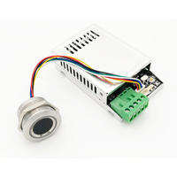 K216 Fingerprint Control Board+R503 Fingerprint Module Two-color Ring Indicator Light Access Control