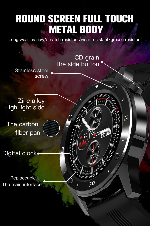 Czjw f22s esporte relógios inteligentes para o homem mulher 2020 inteligente smartwatch rastreador de fitness pulseira pressão arterial para android ios 5