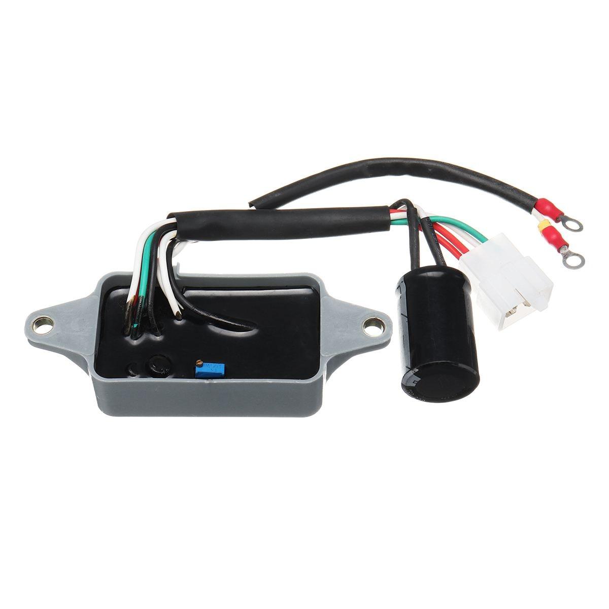 AVR Automatic Voltage Rectifier Regulator for HONDA ES6500 ES6500K1 4KW 6.5KW Gas Generator Spare Parts Generator Parts & Accessories    - AliExpress