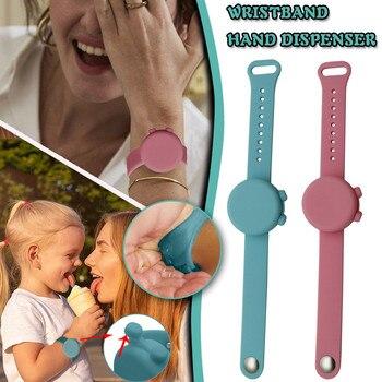 Wristband Silicone Wristbands Hand Dispenser Wearable Dispenser Hand Sanitizer Dispensing Portable C