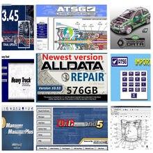 2020 Hot alldata software de reparação automóvel Alldata software mi.t.c.h.ell atsg software software 2015 Elsa-Win 6.0 Vivid 49 in1TB hdd