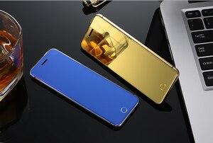 "Image 4 - ULCOOL V66 artı cep telefonu 1.67 ""süper Mini ultra ince kart lüks MP3 Bluetooth toz geçirmez darbeye telefon"