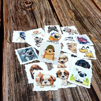 22PCS Mixed Funny Dogs Wateproof Stickers DIY Decorative For Luggage Skateboard Phone Laptop Bicycle Guitar Diary Book - discount item  48% OFF Classic Toys