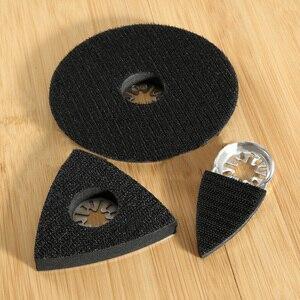 3pcs Sanding Pads Hss Saw Blades Oscillating Multi Tool For Bosch Fein Universal