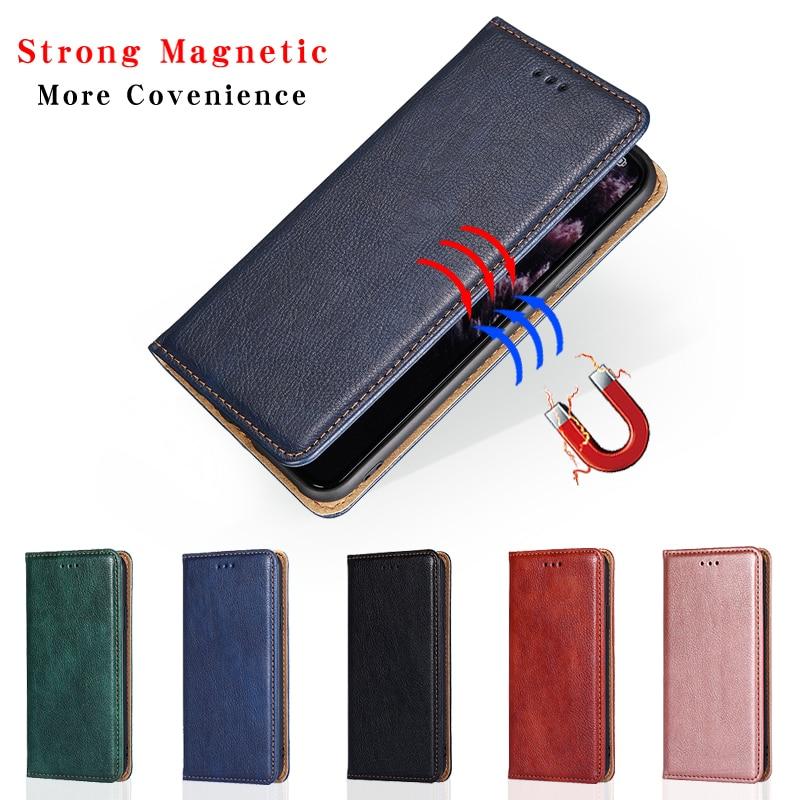 Кожаный флип-чехол для Nokia 2 2,2 3 3,1 3,2 5 5,1 6 6,1 6,2 7 7,1 7,2 8 8,1 1 Plus 9 puобзор 4,2 C2 3,4, Магнитный чехол-бумажник