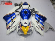 Motorcycle Fairing Kit For Honda CBR1000RR 2004-2005 Injection ABS Plastic Fairings Bodywork CBR1000RR 04-05 Blue White Rothmans цены