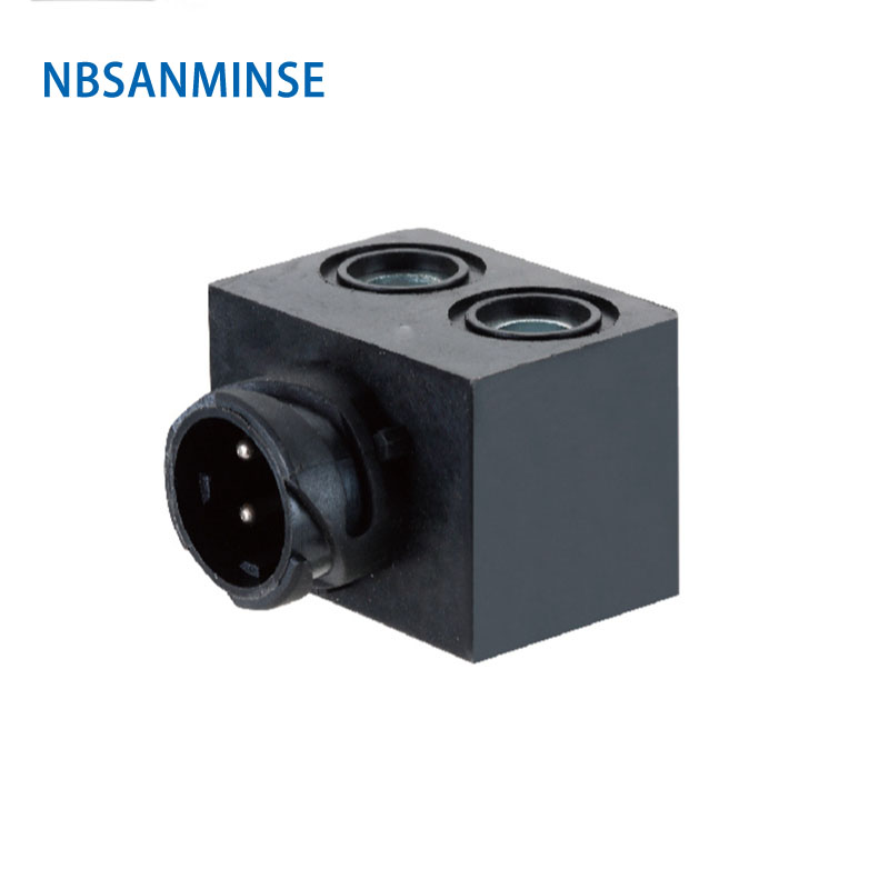 NBSANMINSE 20pcs lot ABS X Automobile Valve Series Coil Electrical Solenoid Valve Coil DC12V Voltage Plug Type Valve Coil in Pneumatic Parts from Home Improvement