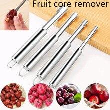 Из нержавеющей стали, для удаления сердцевины яблока, сердцевины, сеялка, нож, кухонные гаджеты, инструменты для фруктов и овощей