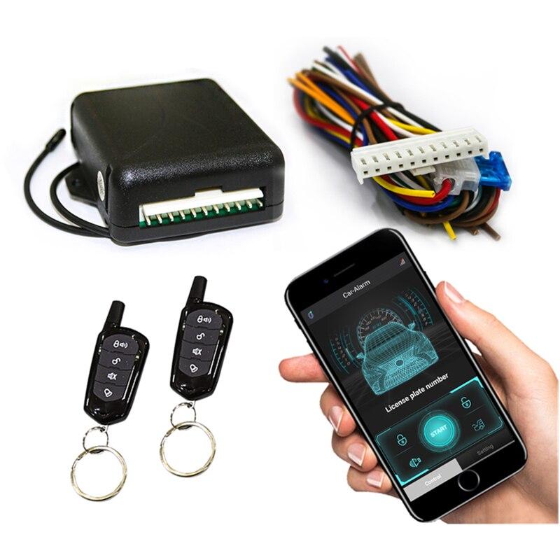 Bluetooth центрального замка автомобильной сигнализации мобильный телефон интеллектуальный пульт дистанционного управления Управление автоматизации двери универсальный Централизованная система входа без ключа Системы
