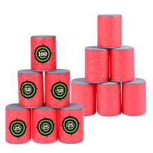 Dart Target-Cans Bullet-Gun Shoot-Bow Soft-Foam-Accessory for Guns-Games 12pcs VORCOOL
