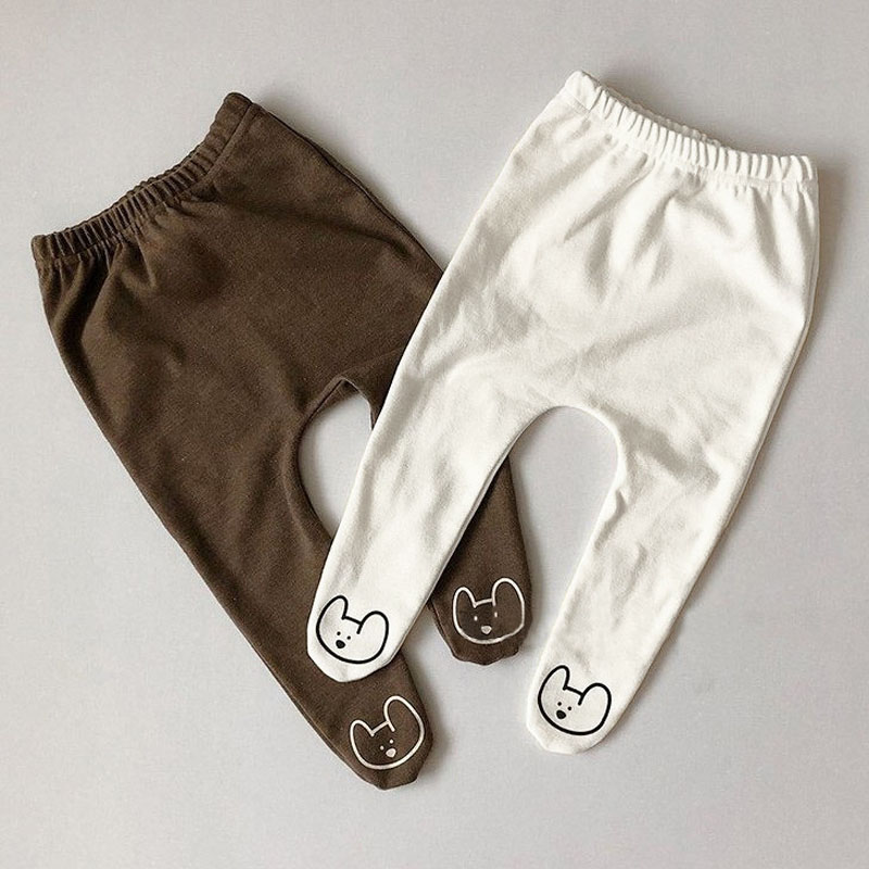 MILANCEL Baby Clothing Cartoon Style Legging For Girls Korean Baby Boys Leggings
