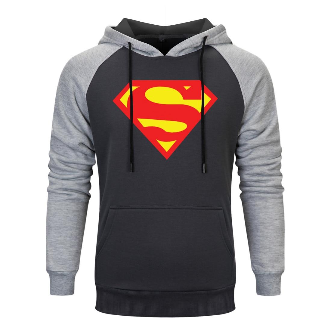 Superman Washed Shield Hoodie