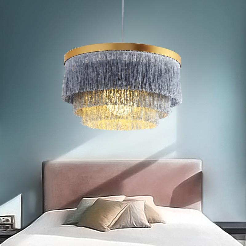 Luminaire Suspendu Luminaria Pendente Rope LED  Pendant Lights   Restaurant  Hanging Ceiling Lamps  Deco Maison