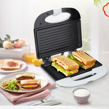 Electric Sandwich Maker Grill Panini Non Stick Pan Waffle Toaster Cake Breakfast Machine Barbecue Steak Frying Oven 750W 220V air frying pan new special price large capacity intelligent oil smoke free fries machine automatic electric frying pan 220v 3l