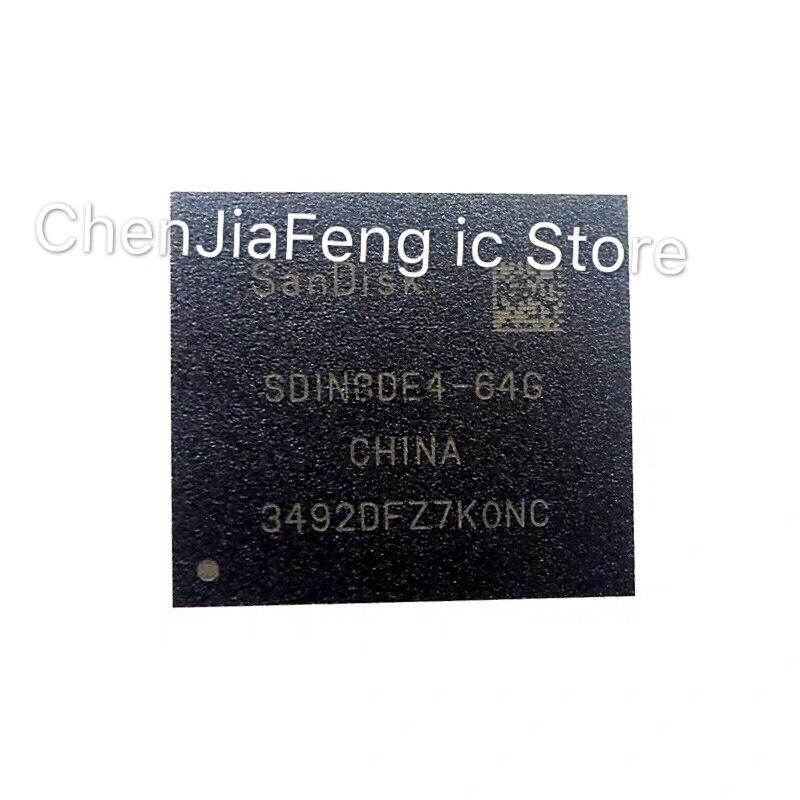 1PCS~5PCS/LOT  SDIN8DE4-64G  EMMC  64G  BGA153  New Original