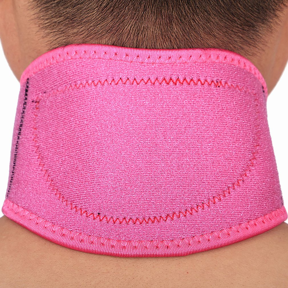 Portable Cold Protection Supplies Cervical Vertebra Neck Guard Neck Cover Alignment Support For Home Office Travel