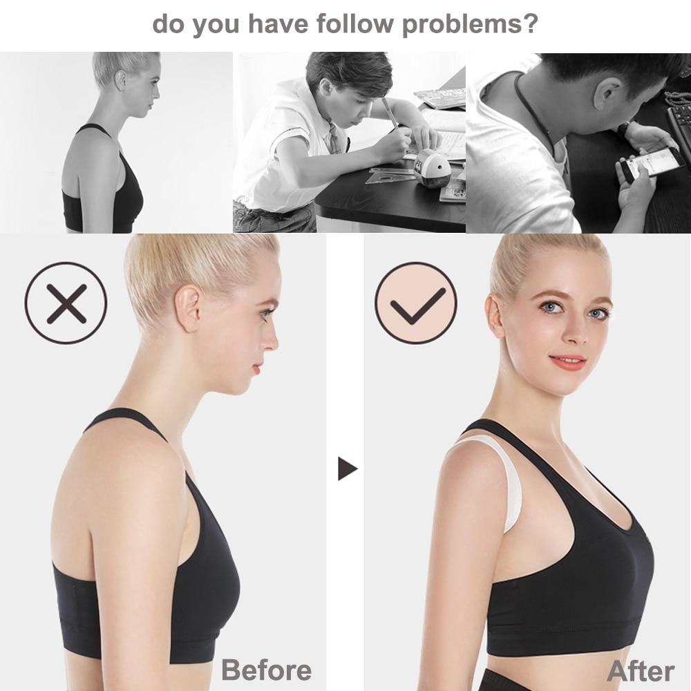 XXL-S Back Shoulder Posture Corrector Adult Children Corset Spine Support Belt Correction Brace Orthotics Correct Posture Health 3