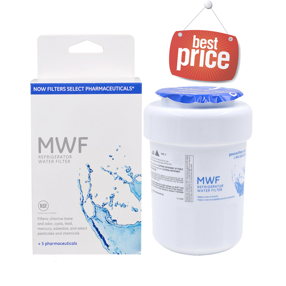 Household Best Water Filter General Electric Mwf Smartwater Refrigerator Water Filter Cartridge Replacement For Ge Mwf 1 Piece