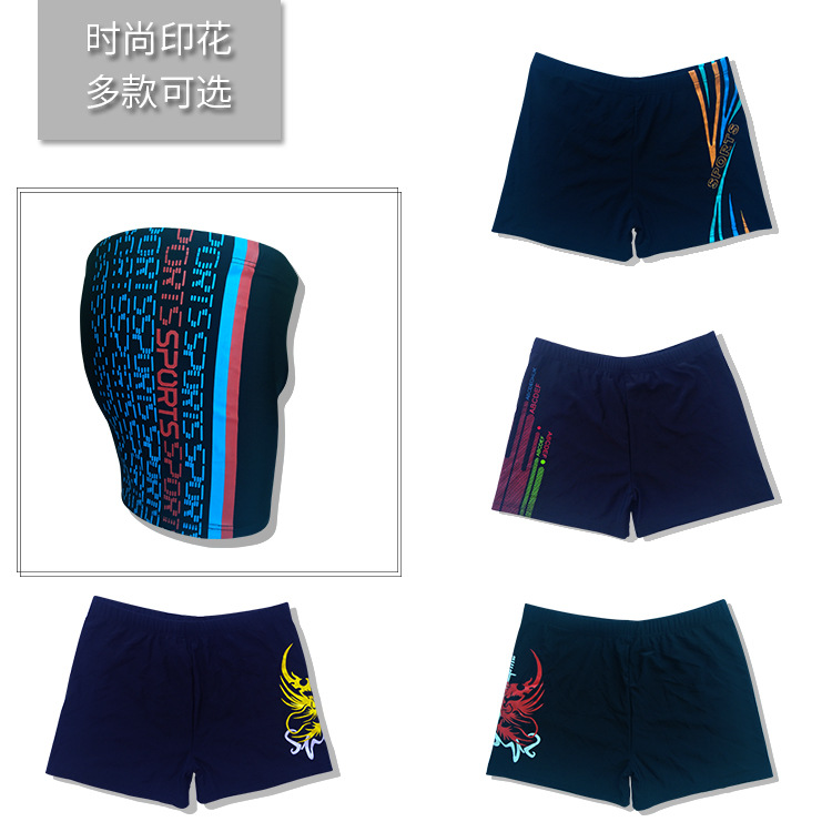 New Style Bubble Hot Spring MEN'S Swimming Trunks Beach Boxer Comfortable Large Size Adult Slim Fit Swimming Shorts
