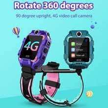 Kinder Smart Uhr Kinder Telefon Uhr Smartwatch 4G WiFi GPS HD Anruf Mit Sim Karte Wasserdichte Kinder Geschenk für IOS Android 2020