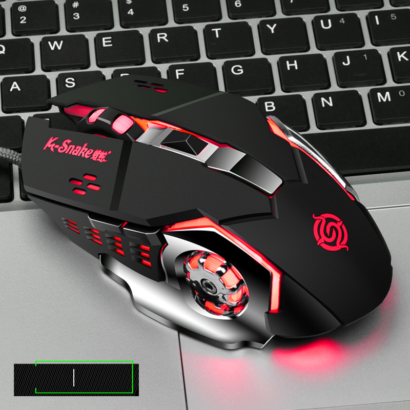 Q5 Mouse USB Wired Computer Jesus Survival Chicken Pressure Gun Custom Macro CF Competitive Game Mouse