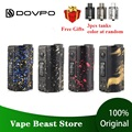 Новый DOVPO Topside Dual 200W Top Fill TC Squonk MOD с 10 мл Squonk Bottle No 18650 Battery Box Mod VS Luxe Mod/Drag 2/Rage