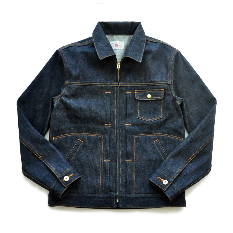 SAUCE ORIGIN 995-D American Cotton Denim Jacket Selvedge Denim Jacket Jeans Jacket Raw Jeans Mans Jacket TRUCKER JACKET