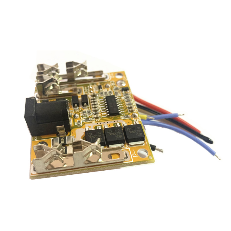 BMS <font><b>5S</b></font> 18.5V 18A DC Electric Tools Hand Lithium Drill Power Li-ion Battery <font><b>Protection</b></font> Board BMS Circuit <font><b>18650</b></font> Cell Packs PCB image