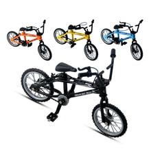 Мини палец велосипед BMX скейтборд велосипед детские игрушки горные велосипеды модели техник декора отличный велосипед для детей подарок