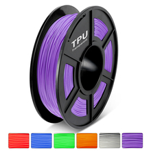 TPU Plastic 3D Printer Filament 1.75MM 0.5 KG Soft Good Aging Resistance Suitable Medical Supplies Product Model