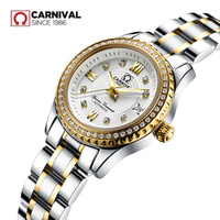 Carnival Women Watches top Luxury Brand ladies Automatic Mechanical Watch Women Sapphire Waterproof relogio feminino reloj mujer
