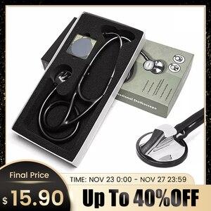 Image 1 - Profesjonalne serce kardiologia płuc stetoskop lekarz Student sprzęt medyczny urządzenie lekarz medycyny pojedynczy klosz stetoskop