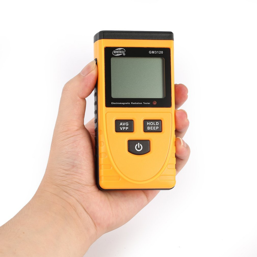 BENETECH GM3120 LCD Digital Electromagnetic Radiation Detector Meter Dosimeter Tester Counter For Computer Phone TV