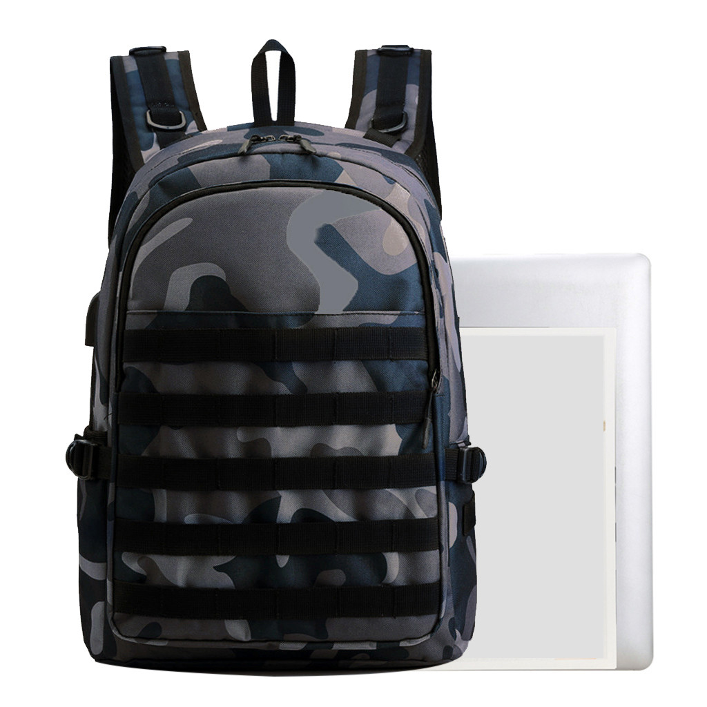 Men's Waterproof Camouflage Backpack Computer Bag Large Capacity Outdoor Hiking Backpack Waterproof Travel Military Backpack
