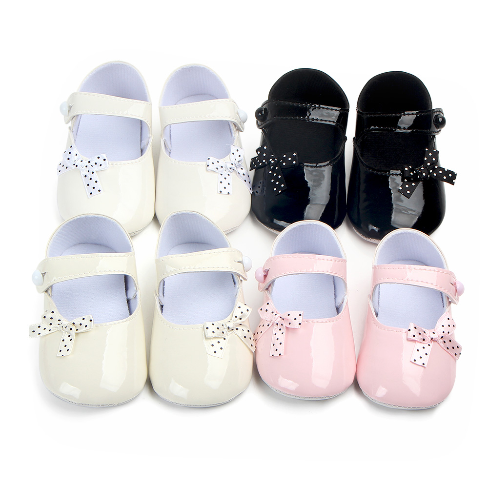2020 The New Bow Baby Shoes Soft Sole Baby Girl Shoes