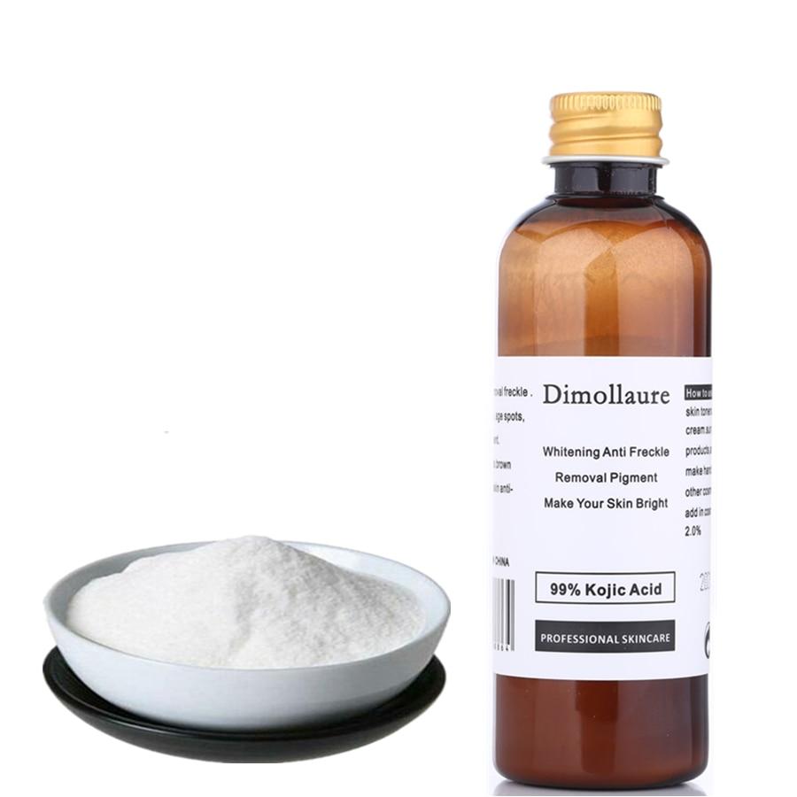 Dimollaure 30 г чистый 99% койевая кислота отбеливающий крем против морщин удаления веснушки мелазмы, уменьшение постугревых рубцов, уход за пигме...