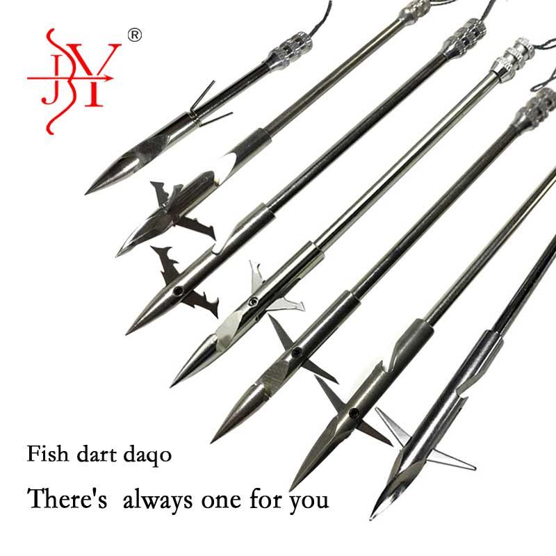 6Pcs Hot Selling Stainless Steel Broadheads Arrowhead Bow Fishing Slingshot Arrow Hunting Shooting Fishing Darts