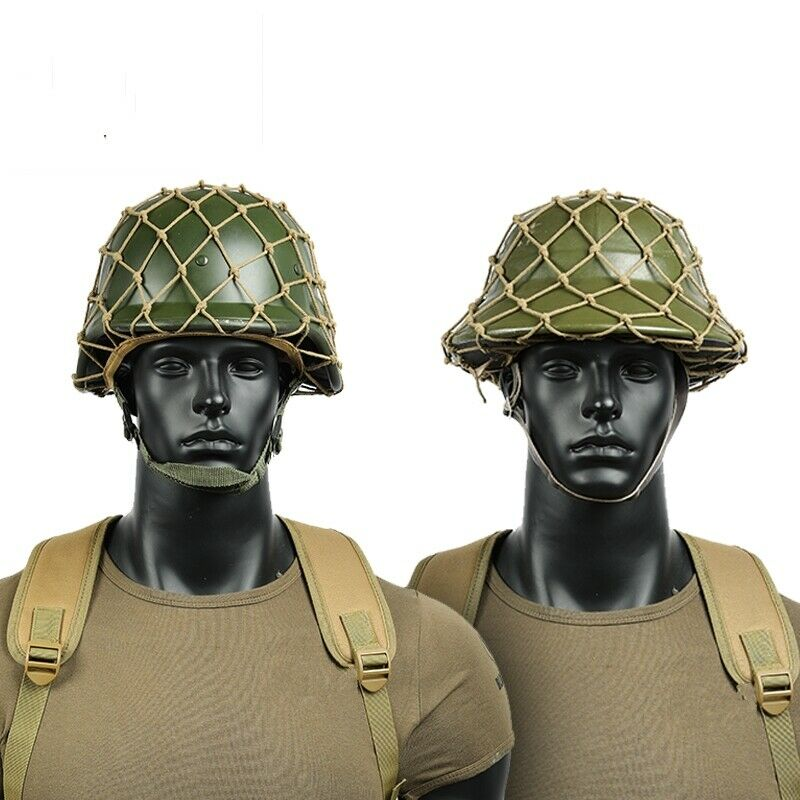 WWII WW2 UK ARMY ELITE BRITISH MK2 HELMET COVER NET MILITARY