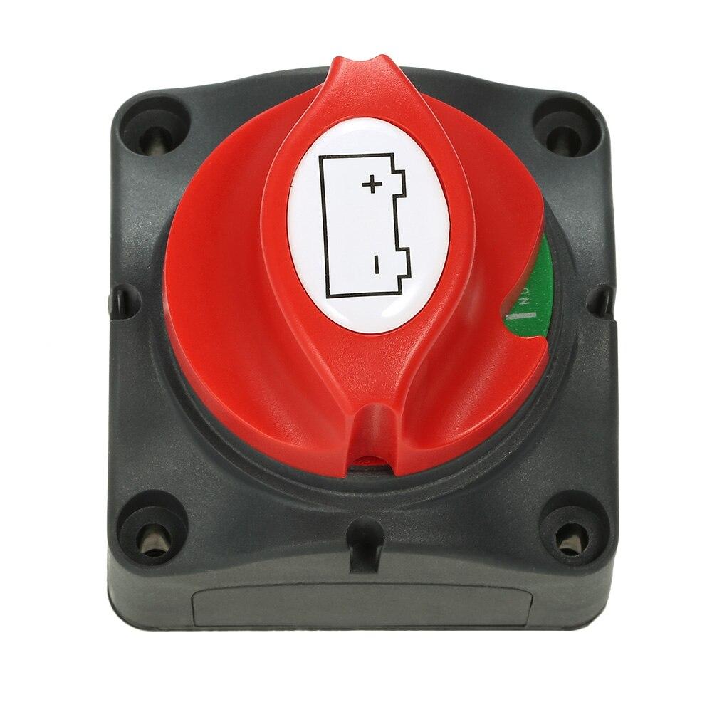 Селекторный переключатель аккумулятора 12 в 24 в 48 в, изолятор, Отсоединяемый поворотный переключатель ВКЛ./ВЫКЛ., автомобильные аксессуары, RV...