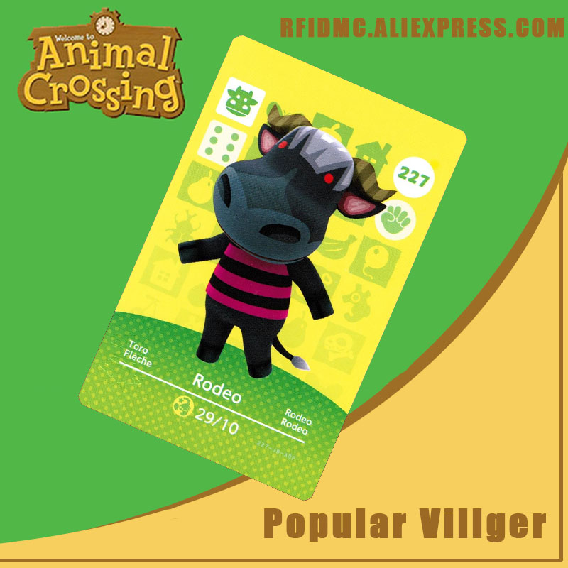 227 Rodeo Animal Crossing Card Amiibo For New Horizons
