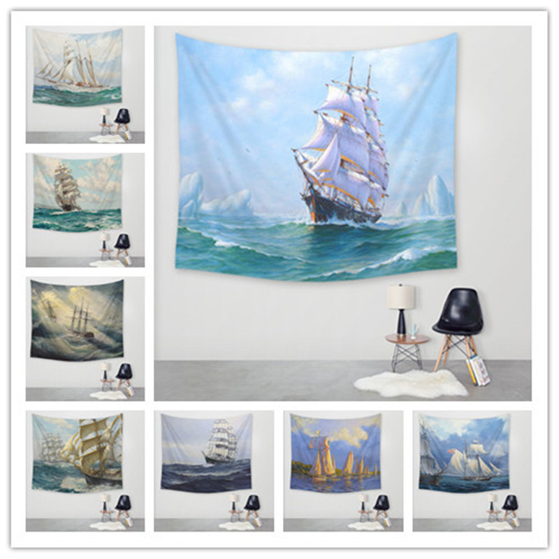 Map List Hot Digital Printing Tapestry Wall Blanket Beach Towel Tablecloth Wall Hanging