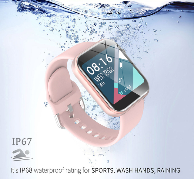 Digital Watch Women Sport Men Watches Electronic LED Ladies Wrist Watch For Android IOS Fitness Clock Female Male Wristwatch+box 5