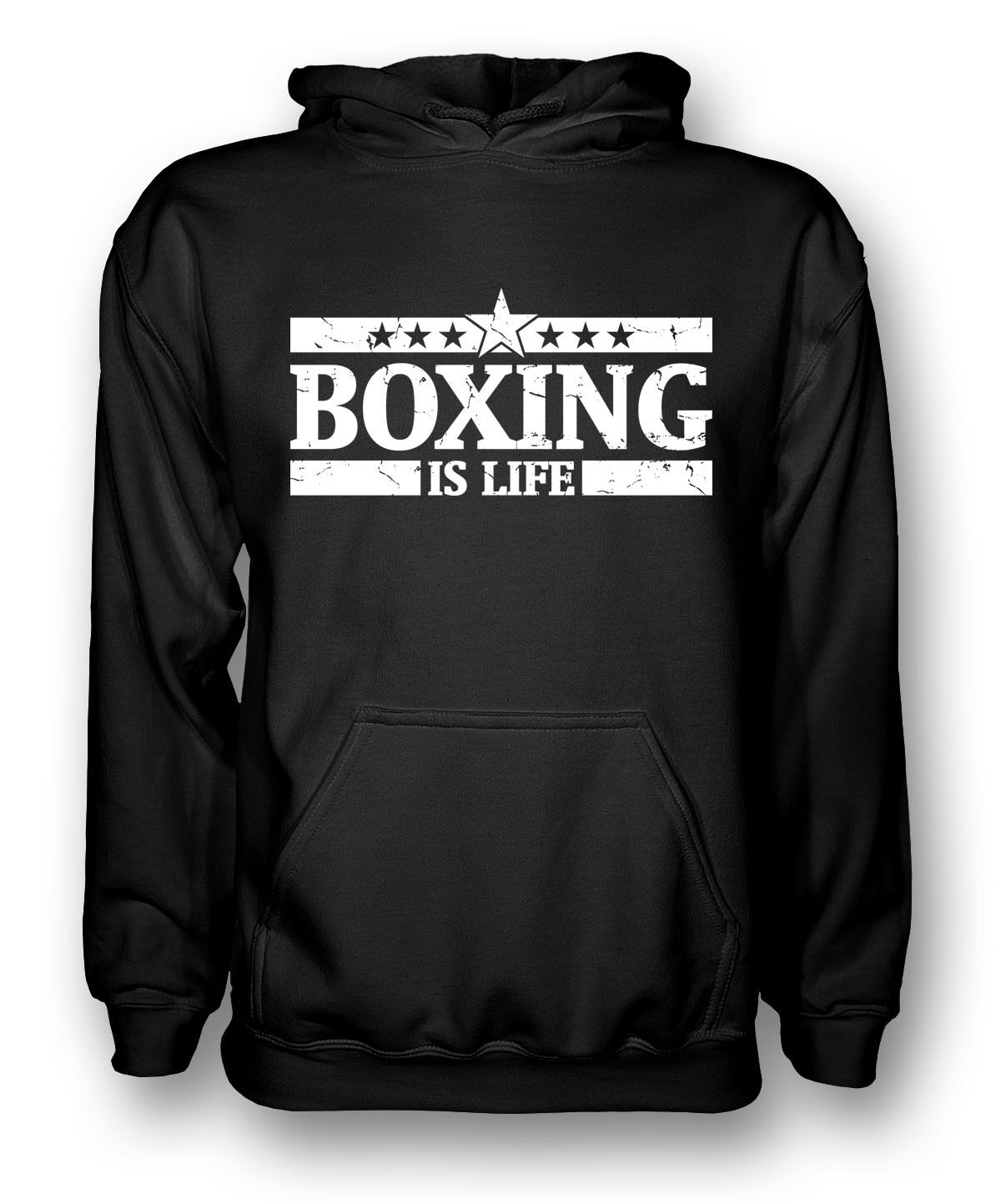 Boxing Is Life - Boxer Boxing Fan Mens Hoodie