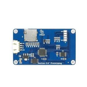 "Image 2 - Nextion 2.8 ""TFT 320x240 מגע resistive מסך תצוגת HMI LCD תצוגת מודול TFT לוח מגע TFT פטל pi"