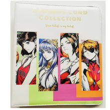 Card Book Hand Painted Goddess Series Mai Shiranui Android 18 Nami Hobby Collectibles Game Anime Collection Cards