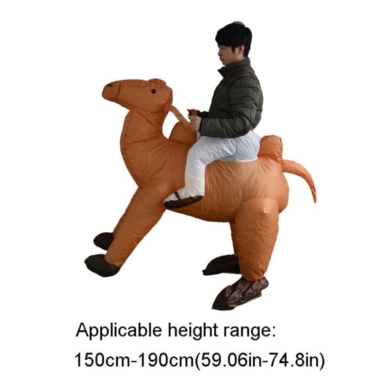 Adult Inflatable Costume Riding Camel Suit Halloween Festival Pant