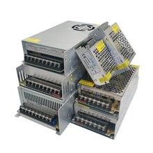 Aydınlatma Transformers DC 5V 12V 24V 36 V güç kaynağı adaptörü 5 12 24 36 V VOlt güç kaynağı 1A 2A 3A 5A 6A 8A 10A 15A 20A 30A