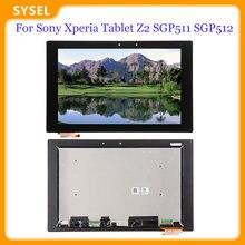 Nowy dla Sony Xperia Tablet Z2 SGP511 SGP512 SGP521 SGP541 ekran LCD z ekranem dotykowym kodowania konwerter wymiana zespołu