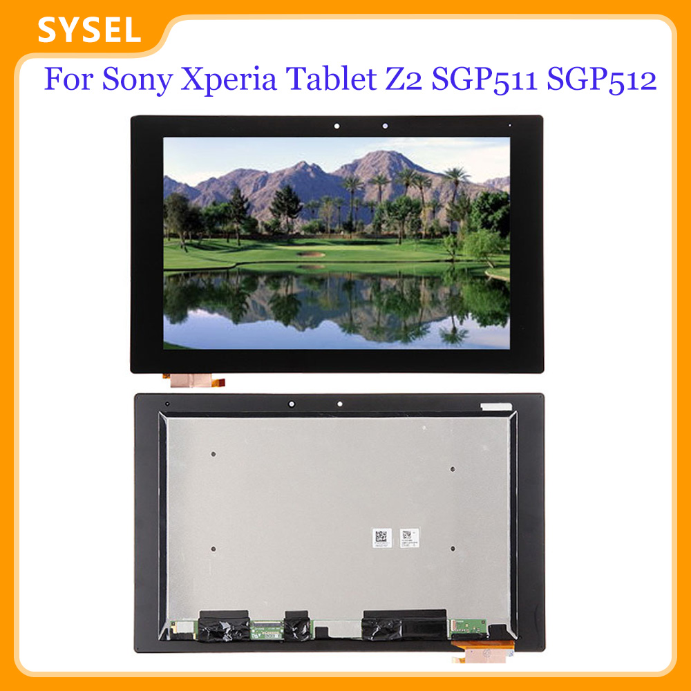New For <font><b>Sony</b></font> <font><b>Xperia</b></font> <font><b>Tablet</b></font> <font><b>Z2</b></font> SGP511 SGP512 SGP521 SGP541 <font><b>LCD</b></font> <font><b>Screen</b></font> With Touch <font><b>Screen</b></font> Encoding Converter Assembly Replacement image