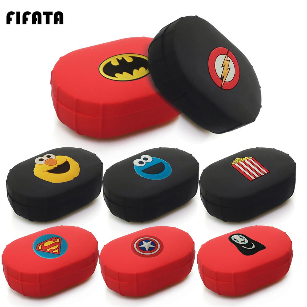 FIFATA Marvel Cartoon Earphone Silicone Case For Xiaomi Airdots Bluetooth Earpiece Waterproof Shockproof TPU Protective Shell